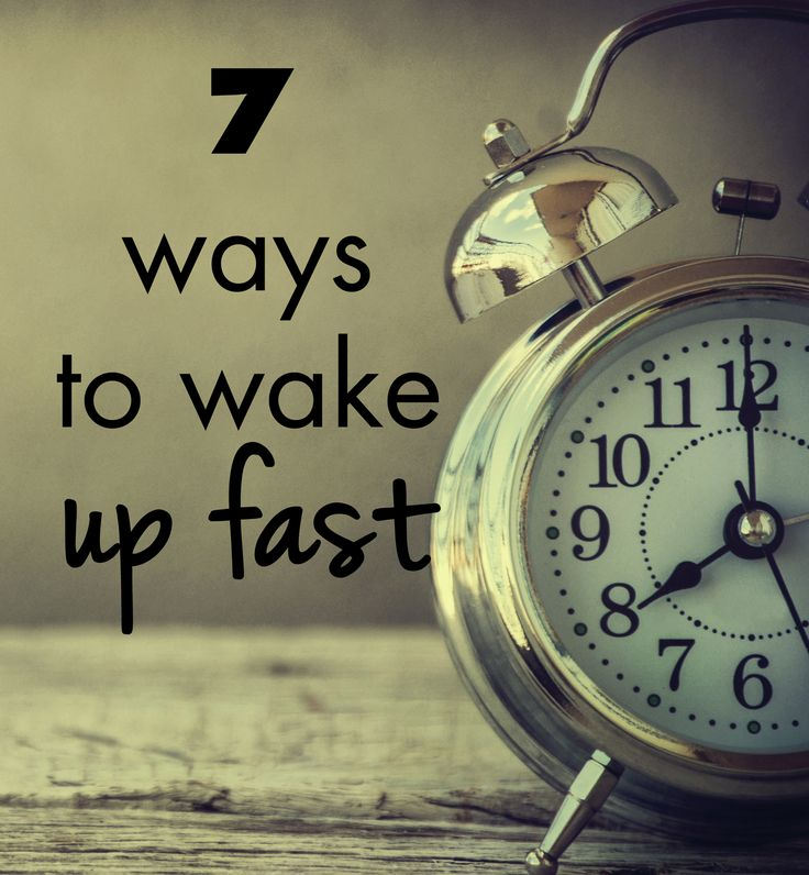 "7 Tips to Help You Wake Up and Get Out of Bed Fast......um, I'm sorry.....what?  I know this is meant to be a serious article, but no. I will not ""practice"" jumping out of bed. Nope. No."