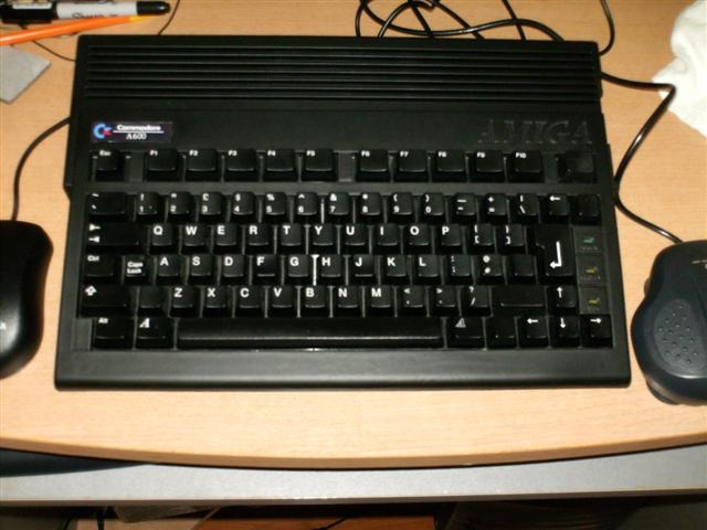 black Amiga 600