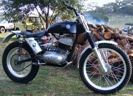 trials enduro motorcycle | Trials > Rare Trials Bikes Part 1 CustGP.com for Classic Trials ...