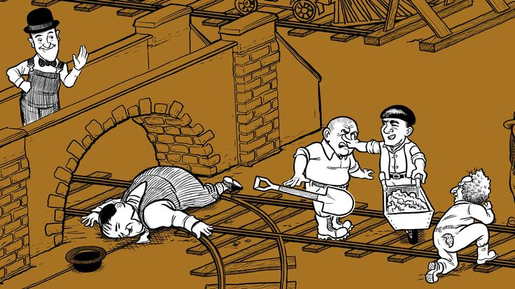 """The Trolley Problem -- a thought experiment in ethics with Stan 'n' Ollie https://en.wikipedia.org/wiki/Trolley_problem teven D. Greydanus and Sam Rocha liked this Matthew Schmitz @matthewschmitz 14h14 hours ago Prof. (Sam) Rocha & DecentFilms (Steve Greydanus) retweet """"2016: the year America ended up in the middle of a trolley problem."""""""