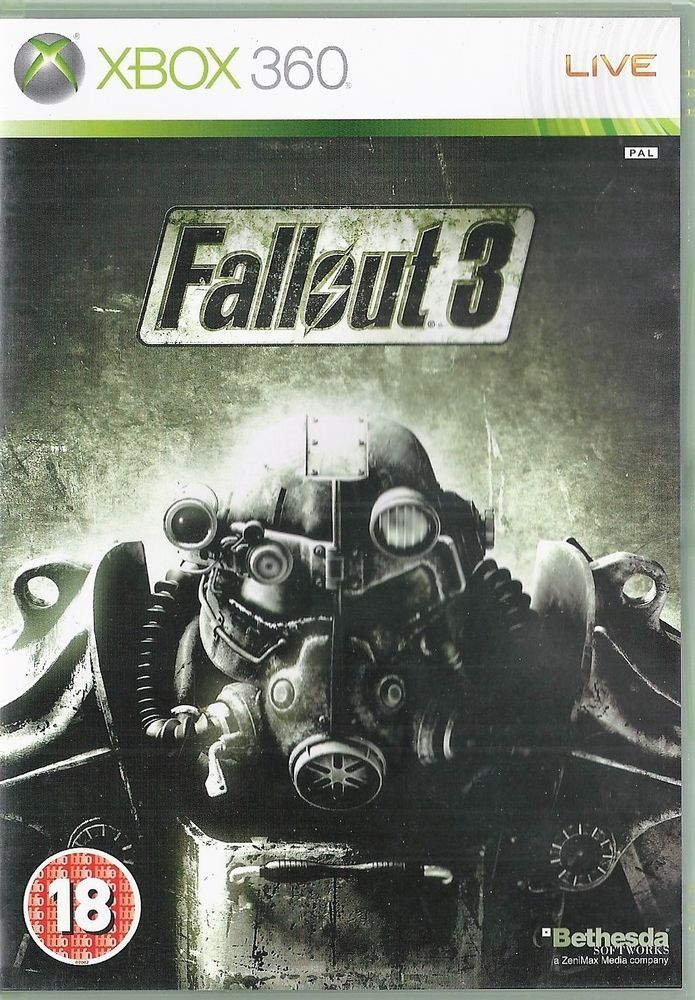 Xbox 360 Fallout 3 ( Xbox One compatible)