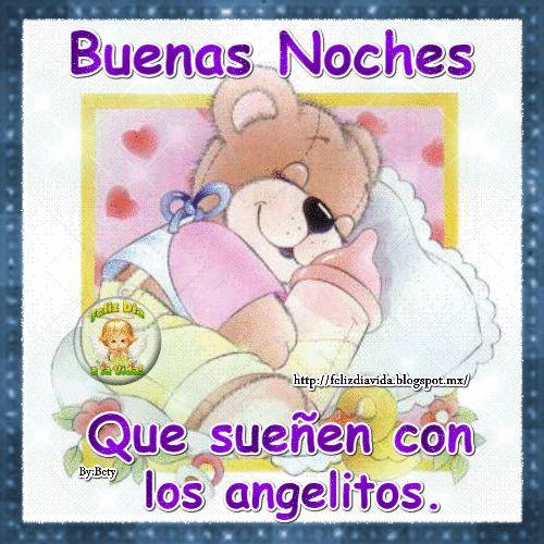 Buenas noches que sueñen con los angelitos