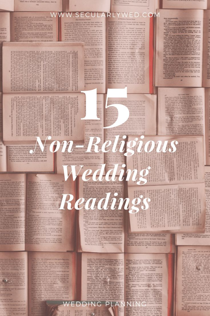 What kind of wedding planning blog would we be without ceremony reading suggestions? No one should have to suffer through 1 Corinthians ever again. Readings are a great way to personalize your ceremony or include important family members in the wedding. We have compiled a list of 15 of our favorite non-religious wedding readings quotes, poems,…