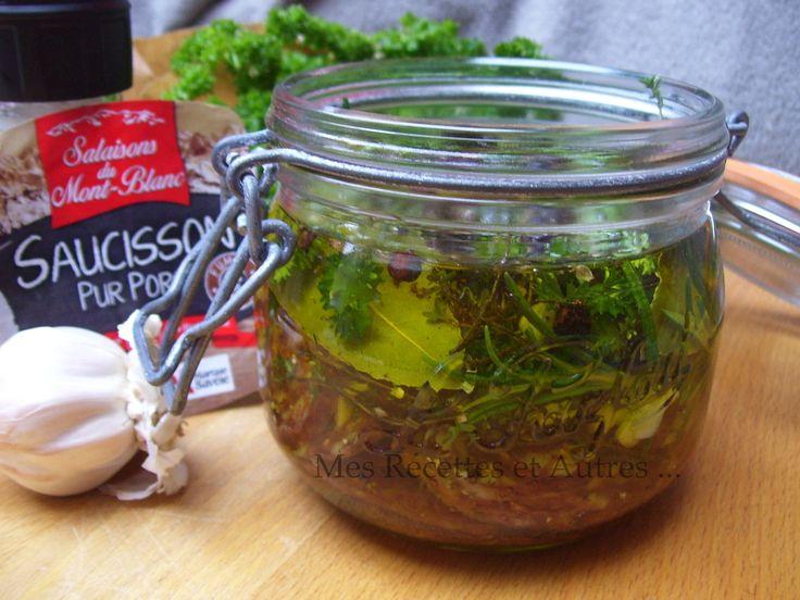 Saucisson Mariné aux Herbes Fraîches