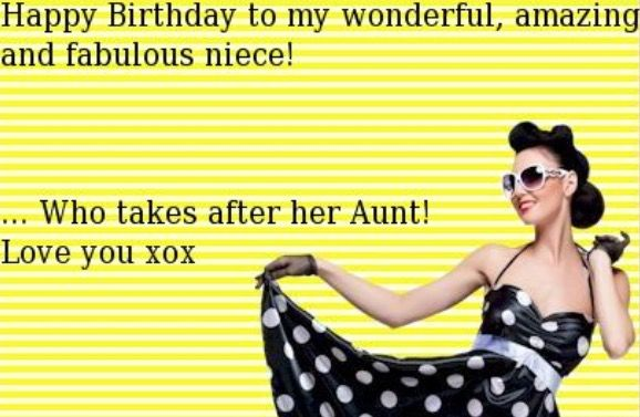 Pin By Vickie Blake Homman On Bd Niece Birthday Humor Happy Birthday Niece Niece Birthday
