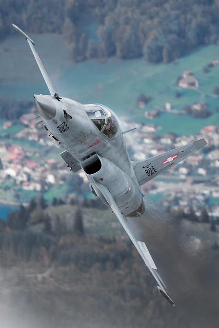 F5E Tiger II;  Fuerza Aérea Suiza.