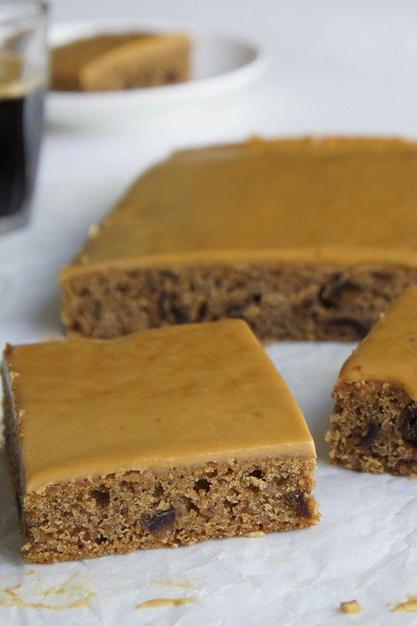 Cappuccino Slice Recipe Dessert Recipes Baking Baking Recipes