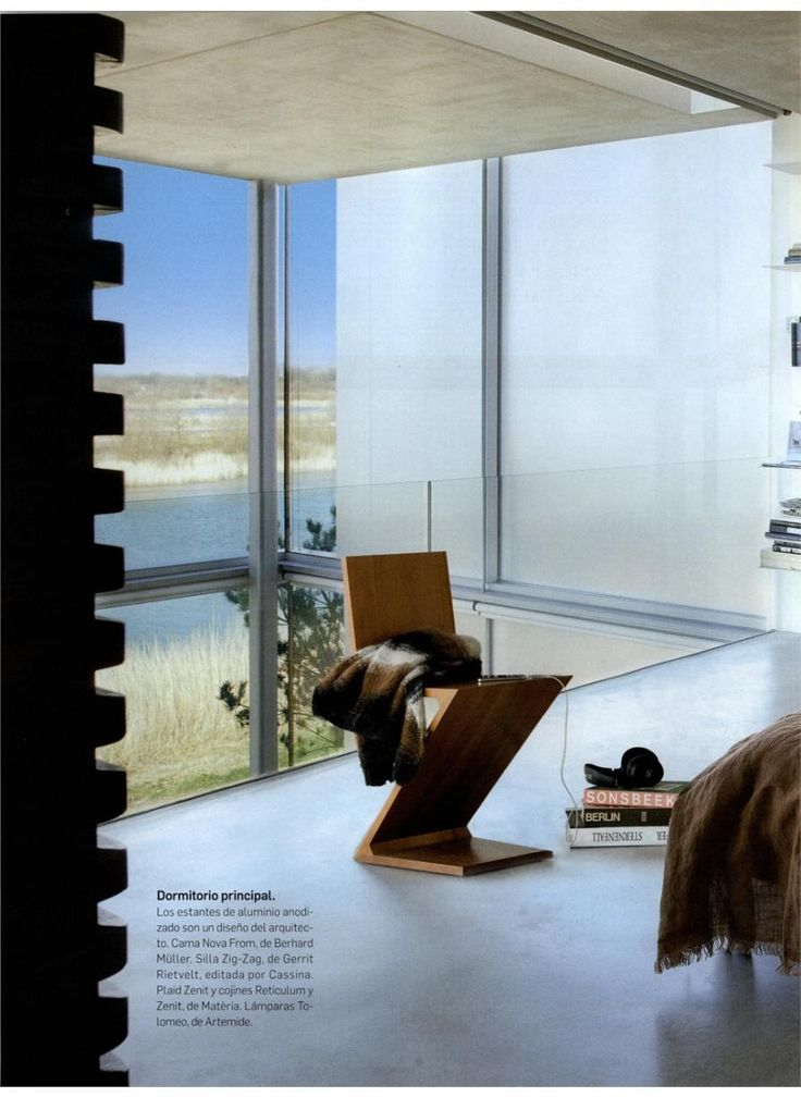 ARQUITECTURA Y DISENO - ZIG ZAG, design Gerrit Thomas Rietveld