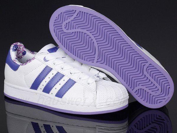 Adidas Superstar Purple Shoes
