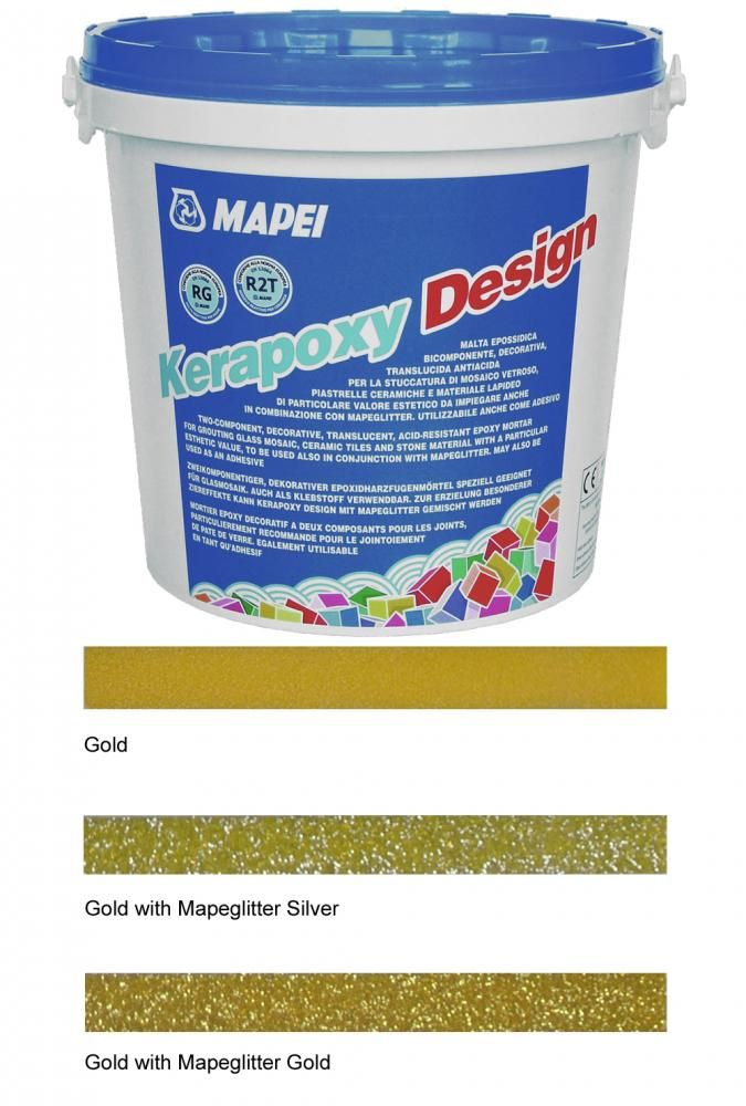 Kerapoxy Design Gold Tile Adhesive & Grout
