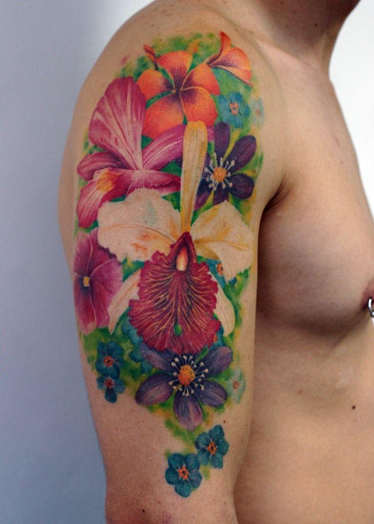 flores tattoo