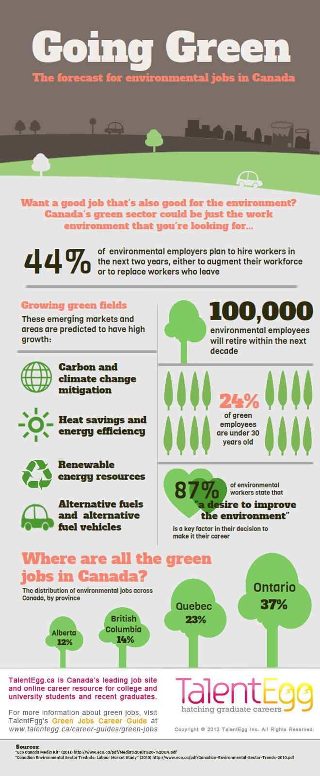 best ideas about green jobs infographics design infographic going green the forecast for environmental jobs in