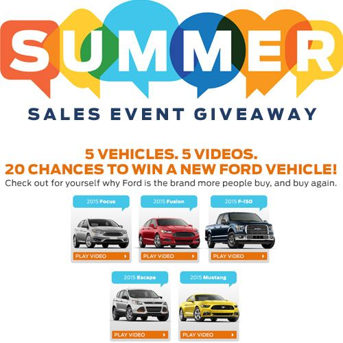 Pin by unknown on Random Shit | Giveaway, Ford, Summer sale
