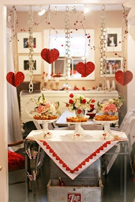 Valentine S Day Recollection Vintage Wedding Reception