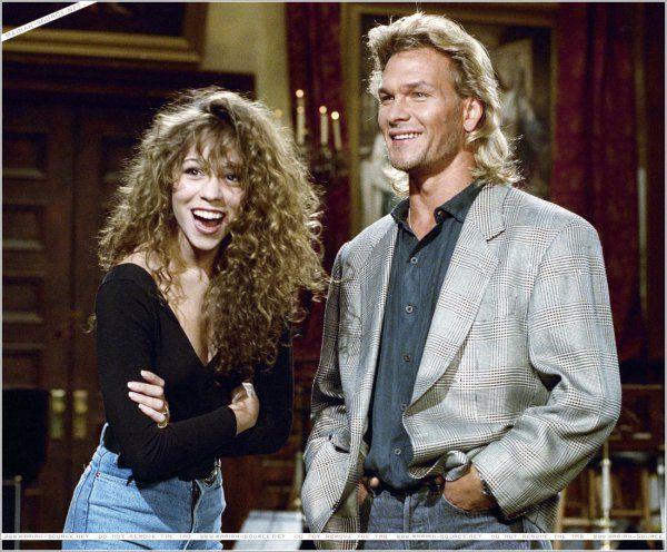 Mariah Carey and paftrick swayzie