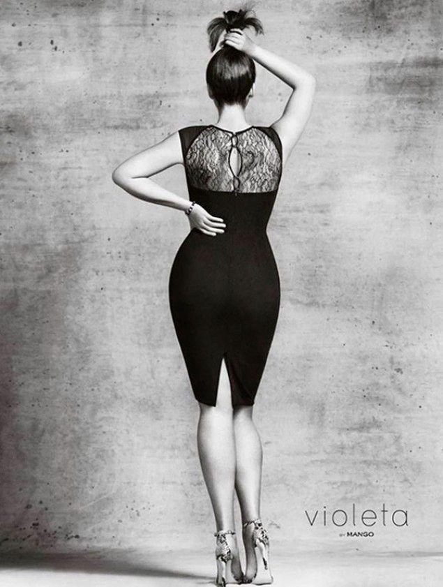 #Violeta #Mango, nuova collezione di abiti per donne #curvy (FOTO)