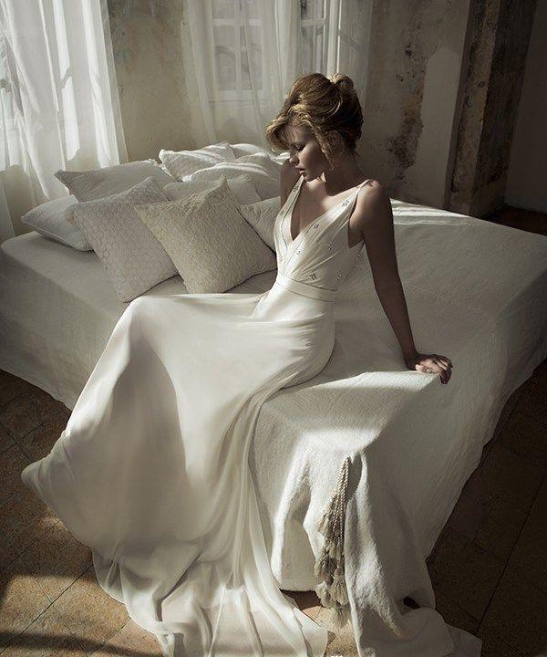 Свадебное платье с элегантным кроем