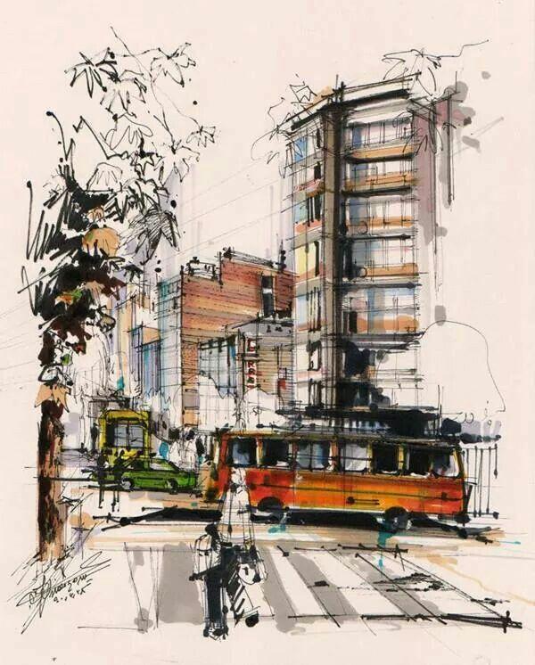 ..Boceto urbano