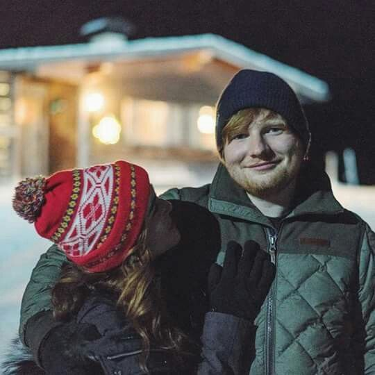 You know who's perfect...ED SHEERAN not the girl.😂🤪😘