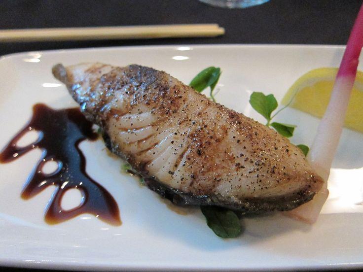 Alaska Seafood at Nobu - Black Cod