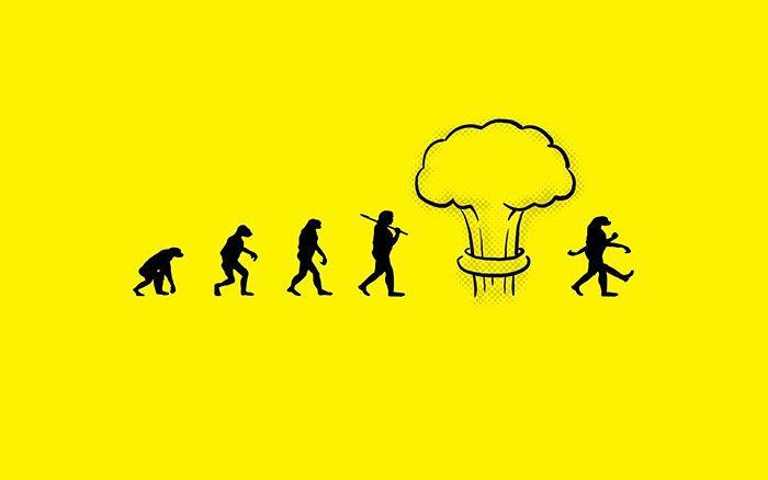 Évolue-t-on ou régresse-t-on ? Avec ces 20 illustrations chocs sur l'évolution de l'Homme, on peut se poser la question !