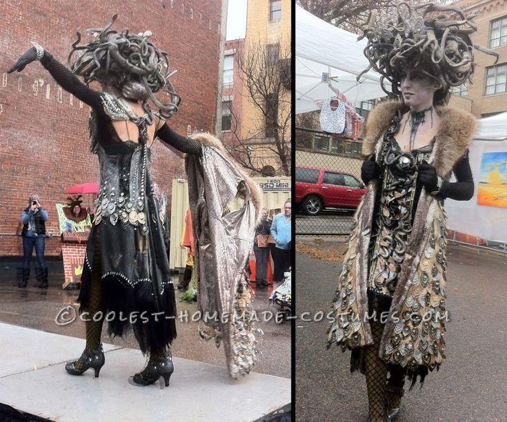 amazing hand made art deco medusa costume - Halloween Stores In Toms River Nj