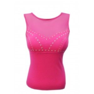 Rihanna Top Pink Studded on www.casj.nl
