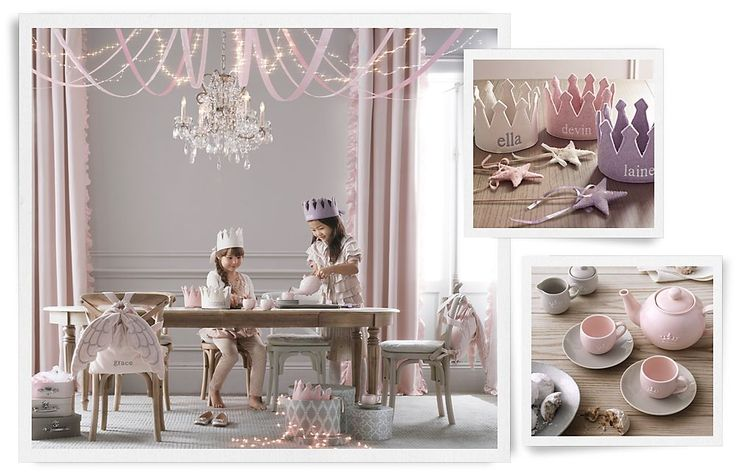These colors and finishes are so sophisticated for a child. Not bright and playful enough for my girls, but I just look at this picture and think, lovely.