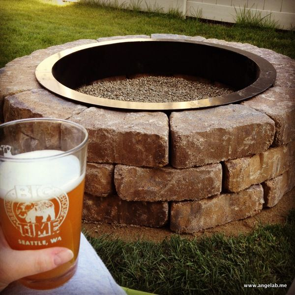 ... fireplaces summer fire pits yard ideas forward this is our fire pit