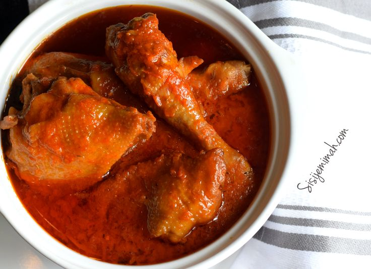 36 best african food west images on pinterest african food nigerian chicken stew with roasted peppers forumfinder Gallery