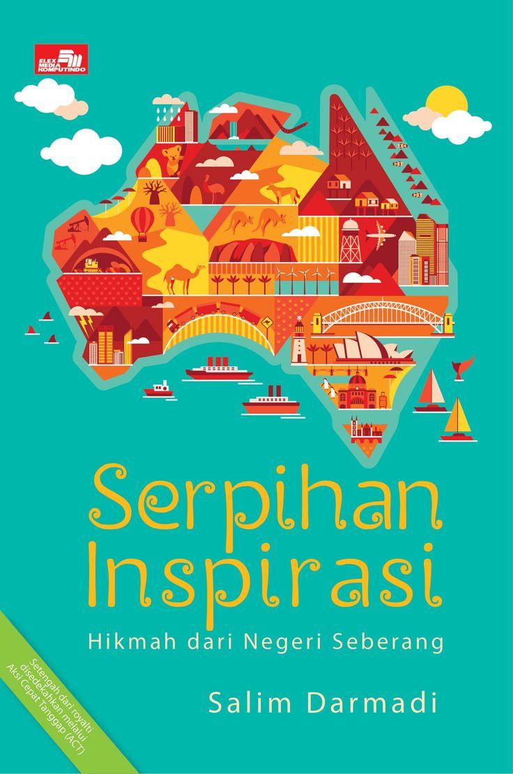 """Cover Depan """"Serpihan Inspirasi: Hikmah dari Negeri Seberang"""""""