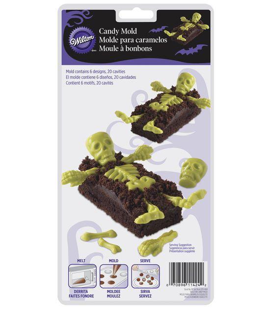 Wilton 20 Cavity Skeleton Parts Candy Mold