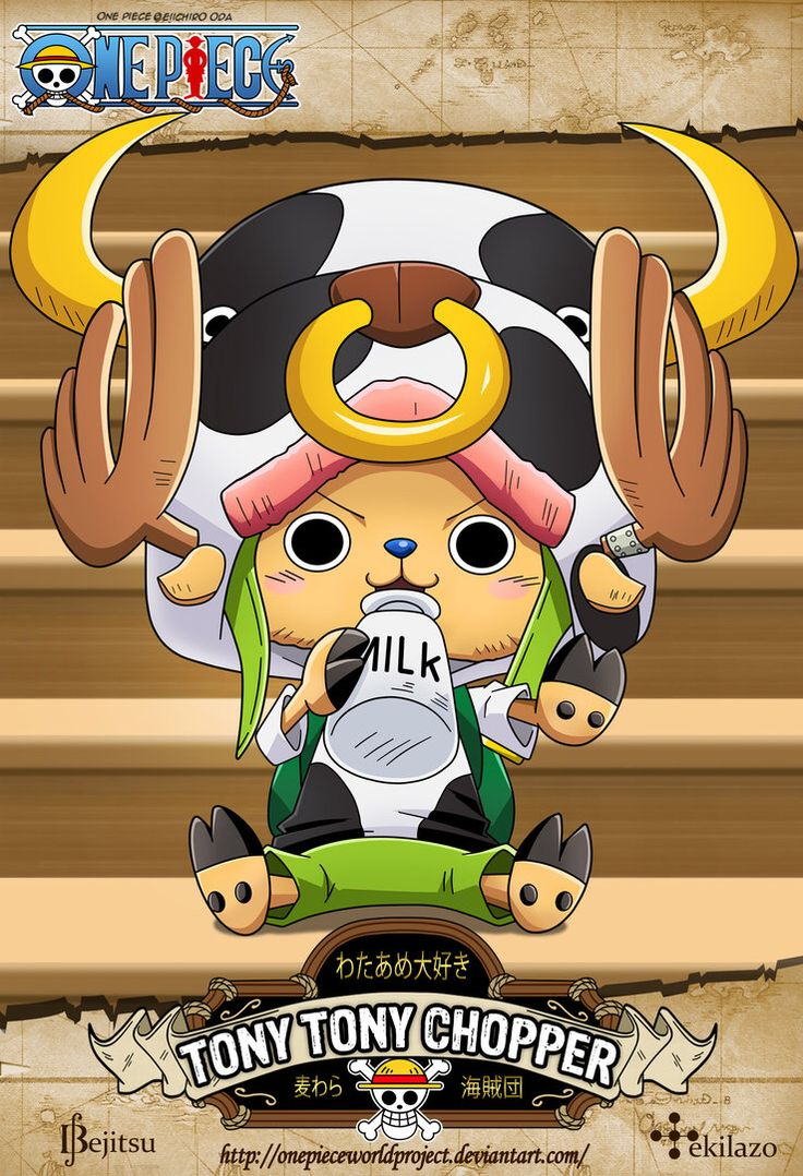 One Piece - Tony Tony Chopper by OnePieceWorldProject on @DeviantArt