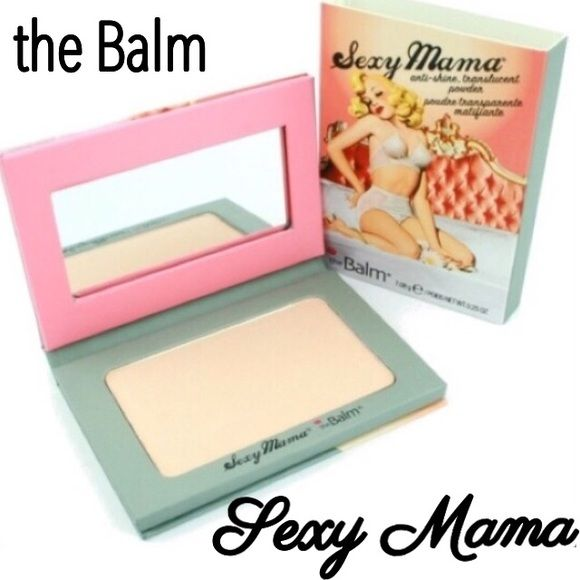 the Balm Sexy Mama Translucent Powder Powder your face without a trace. This sexy formula uses revolutionary, tiny, oil-absorbing spheres to remove dreaded shine, leaving you with a soft, matte finish. A truly anti-shine translucent powder!! Awesome. I love that!! Talc-Free, Oil-Free, Paraben-Free, Non Comedogenic, Cruelty-Free. BNIB. Never used or swatched. 100% Authentic. Price firm unless bundled. All sales final. Ask questions prior to purchasing. Thanks for visiting & Happy Poshing! the…