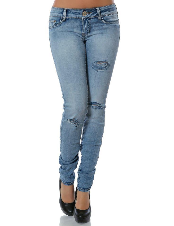 Damen Jeans Skinny Blau 13705 bei daleus.de online kaufen