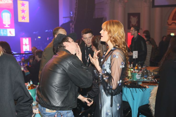 Jamie T is enthralled by Florence's latest story. http://nmem.ag/JiV2I