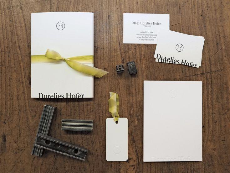Design and Paper | Letterpress Stationery for Wedding Photographer Dorelies Hofer | https://www.designandpaper.com