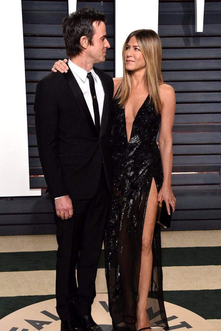 Jennifer Aniston et Justin Theroux Ont Enflammé le Tapis Rouge de l'After des Oscars