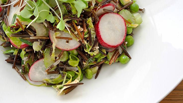 Bloomed Wild Rice Salad