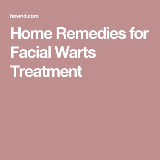Home Remedies for Facial Warts Treatment http://www.wartalooza.com/treatments/salicylic-acid-treatment-for-warts