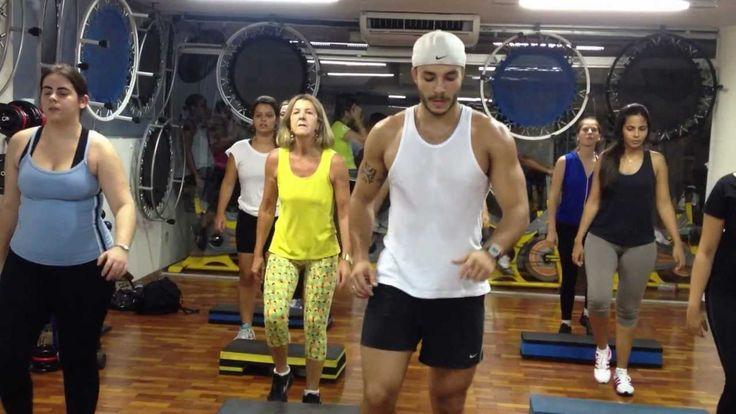 AULA DE STEP- FERNANDO DUARTE (SAMBA BRASIL VS KATY PERRY)