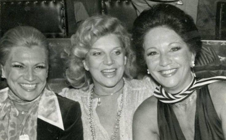 Hebe Camargo, Tonia Carreiro e Lolita Rodrigues