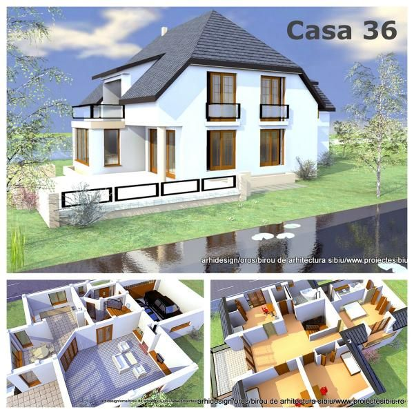 proiect casa terasa mare
