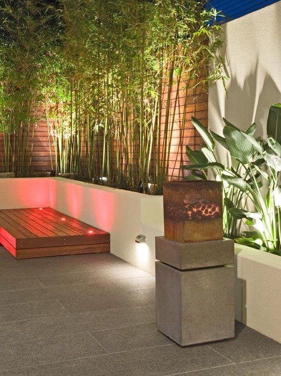 Les 25 meilleures id es concernant design de cl ture sur for Decoration terrasse avec bambou