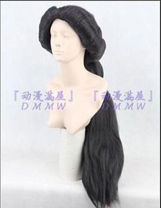 New Aladdin MAGI Princess Jasmine Cosplay Wig + gift #FullWig