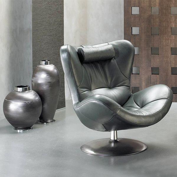 Silny jak stal  #armchair #natuzzi #italian #design #classic #style #internoitaliano