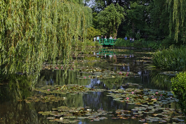 El jard n de claude monet en giverny francia for Jardines de monet