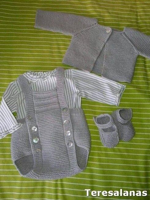 Yeni Örgü Bebek Salopet ve Tulum Modelleri
