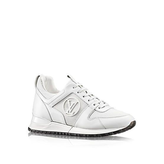 LOUIS VUITTON Run Away Sneaker, white