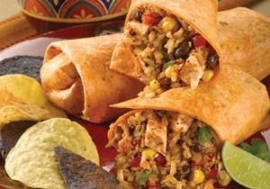 Spicy Southwest Chicken and Rice Wrap.Southwest Chicken, Rice Wraps, Low Sodium Recipe, Dash Recipes, Delicious Wraps, Chicken Thighs, Spicy Southwest, Wraps Recipe, Spicy Wraps